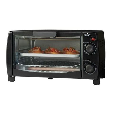 Rival Toaster Oven Rival 4 Slice Toaster Oven Black Walmart