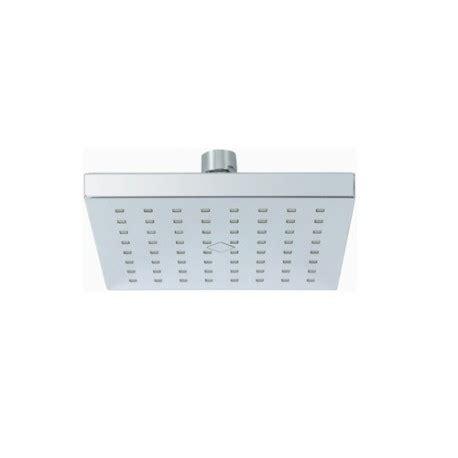 doccette per doccia soffione per doccia doccetta in abs cromato 15x15 brico casa