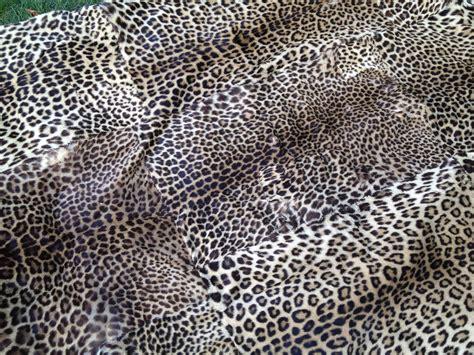 vintage leopard skin rug collectors weekly