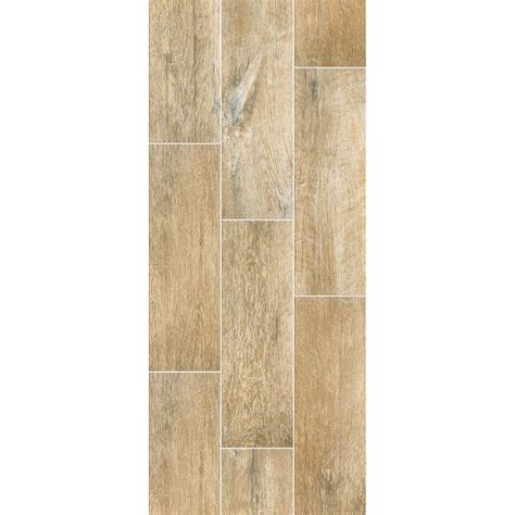 shaw channel plank cider wood look porcelain tile 7 quot x 22
