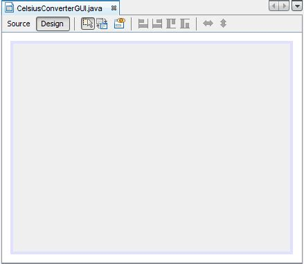 learn swing java netbeans ide basics the java tutorials gt creating a gui