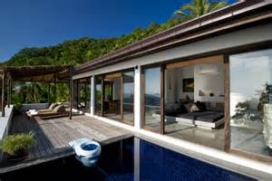 modern tropical design mixed with traditional thai