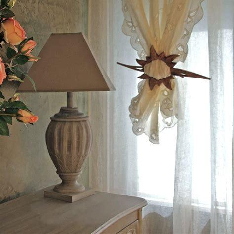 tringles à rideaux 740 embrasse de rideau bois edelweiss d 233 coration decotaime fr