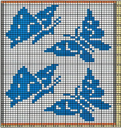 butterfly knitting chart ravelry potholder butterflies pattern by schoenfeldt