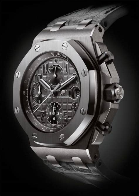 Jam Ap Roo Jf Ceramic Grey Chrono Best Clone 1 audemars piguet unveils new royal oak offshore chronograph collection at sihh 2014 best luxury