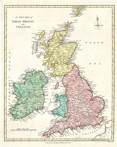 great britain ireland 9782067220898 a new map of great britain and ireland geographicus rare antique maps