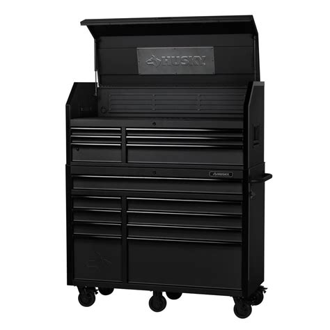Tool Chests And Cabinets by Husky Industrial 52 In W X 21 7 In D 15 Drawer Tool