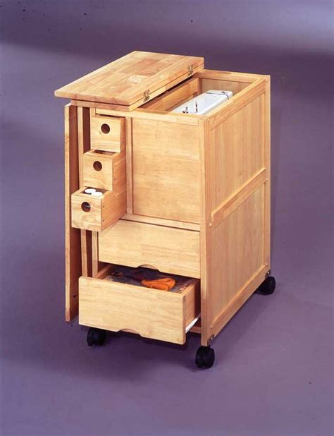 home styles portable sewing and storage table 88