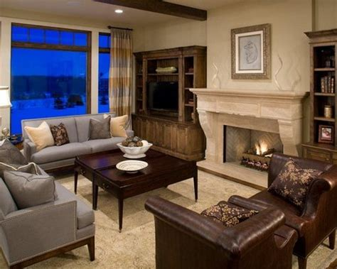 grey and brown living room grey brown living room home design ideas renovations photos