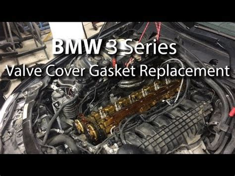 video bmw valve cover gasket replacement diy step  step easy