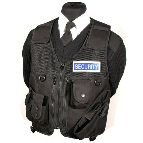 tactical tools and equipment protec black security guard tactical equipment vest