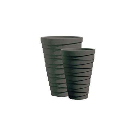 Large Plastic Planters by Buy 38cm Trojan Large Plastic Patio Planters
