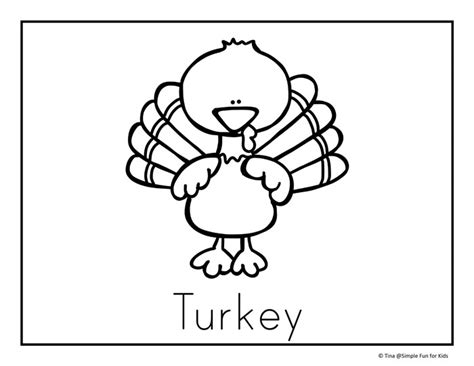 thanksgiving coloring pages easy thanksgiving turkey simple coloring page sketch coloring page