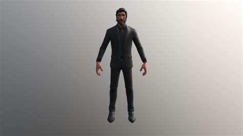fortnite  reaper john wick    model
