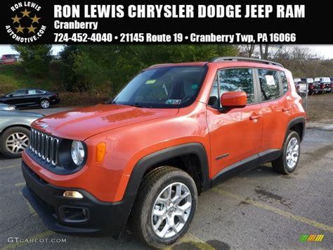 jeep renegade orange interior 2016 omaha orange jeep renegade latitude 4x4 109231671