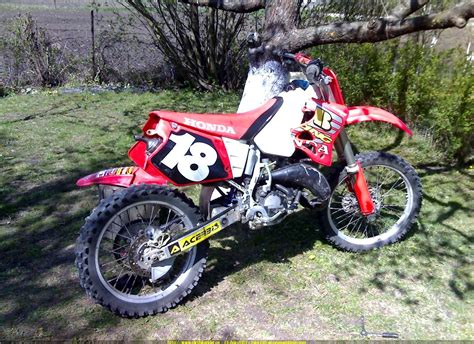 honda cr 125 pin honda cr 125 on