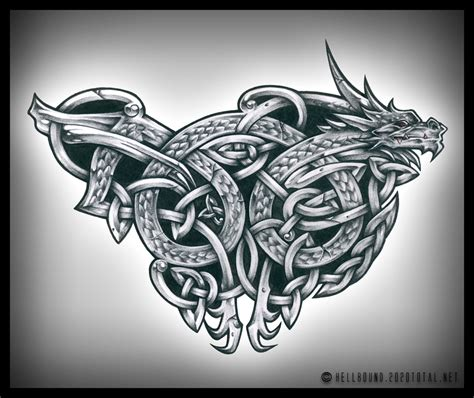 tattoo dragon celtic celtic dragon tattoos