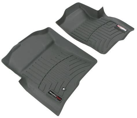 weathertech front auto floor mats gray weathertech floor mats wt461791
