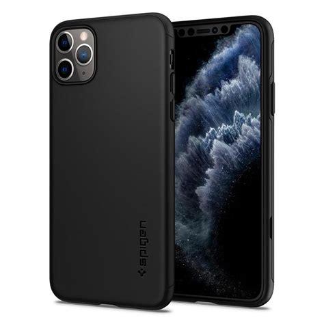 spigen thin fit classic cs iphone  pro max case black spaceboy
