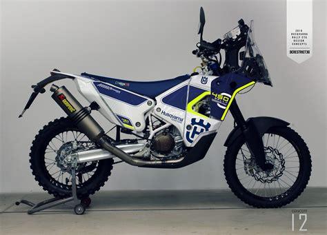 2nd motocross bikes 2nd look husqvarna factory 450 rally bike moto related