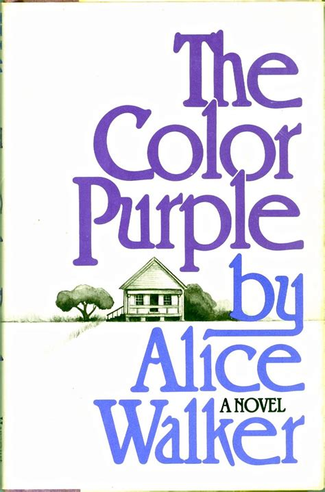 nettie in the color purple book the color purple hardback dust jacket 1st ed 2nd printing