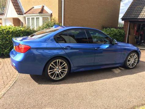 bmw 320d blue colour 2013 bmw 320d m sport blue
