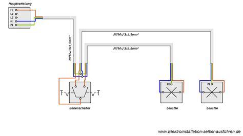 jalousie schaltplan schaltplan einer serienschaltung elektroinstallation