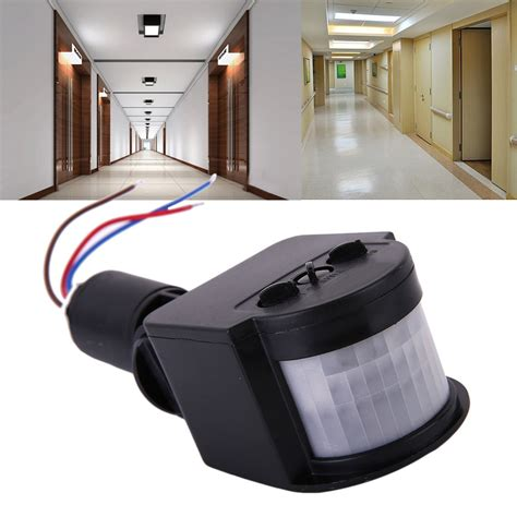 outdoor 12m pir12v pir85 265v security pir infrared motion