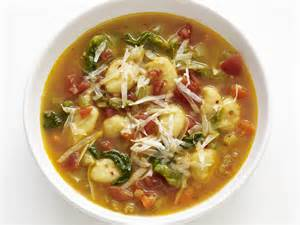 food network recipes the kitchen minestrone with gnocchi recipe food network kitchen