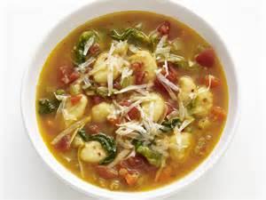 minestrone with gnocchi recipe food network kitchen