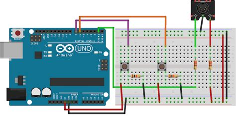 breadboard circuit assembly here s how you can make a midi controller with an arduino electronic products