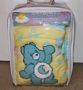 care bears boy baby nursery crib bedding 5pc set w