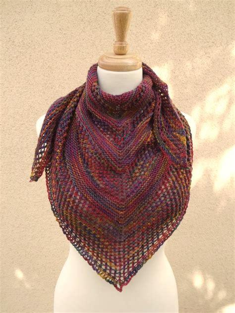 Knit Neckerchief knit net lace neckerchief neck scarf shawlette muted