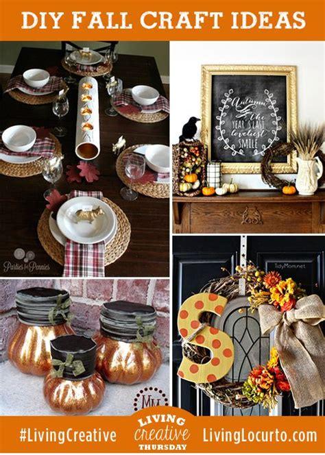 diy fall crafts 4 easy fall diy craft decorating ideas living creative thursday