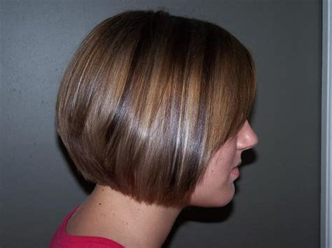 high and low highlights on short hair posh bob gallery