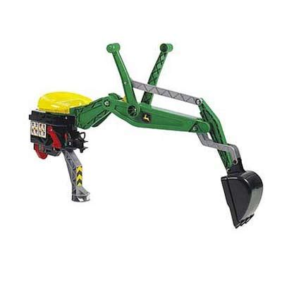 rolly john deere rear digger the outdoor toy centre: tp