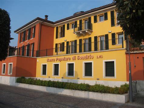 Banca Pop Di Sondrio by Banca Popolare Di Sondrio Legnotech In Legno