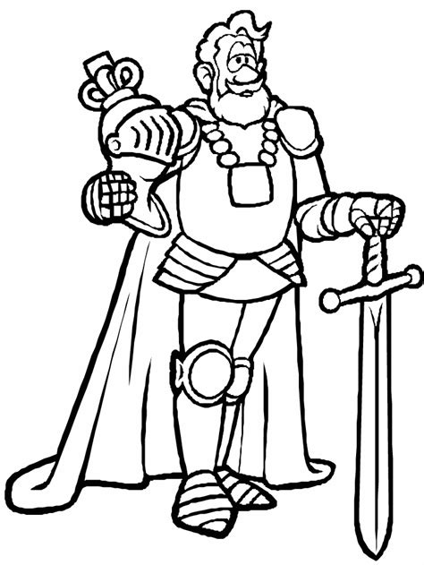 medieval knights coloring pages coloring home