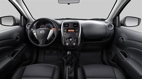 nissan versa compact interior nissan versa 1 0 e 1 6 2015 vers 245 es e consumo car