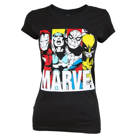 Tshirt Superheroes 22 From Ordinal Apparel freeze womens marvel t shirt black