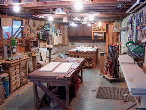 led workshop lighting fixtures workshop led lighting by redsled lumberjocks