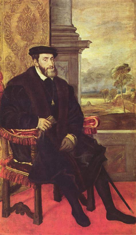 carlos v un tiziano retrato de carlos v en un sill 243 n artelista com