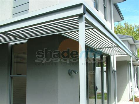 Aluminium Shade Awnings by Aluminium Louvres Awnings And Canopies Sydney