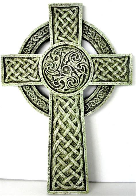 irish celtic cross wall plaque joseph s studio house of
