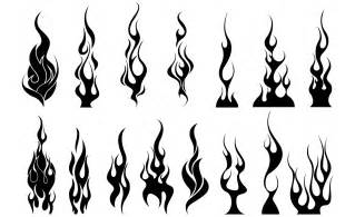 flames vector pack illustrations on creative market