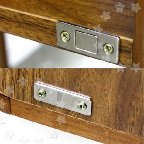 2 X Steel Ultra Thin Door Catch Latch Furniture Magnetic Magnetic Catch For Cabinet Doors