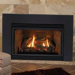 propane fireplace insert with blower 34 quot innsbrook direct vent fireplace insert liner blower and contemporary surround millivolt