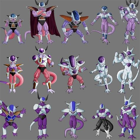 of universe and ancestors the transformation of xe xeron books frieza cooler and king cold anime animated