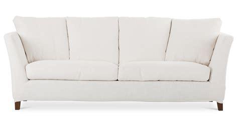 long white sofa long island white sofa sofas article modern mid