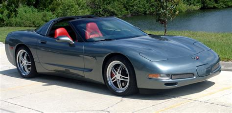 how make cars 2004 chevrolet corvette parking system 2004 corvette coupe rare spiral gray with torch red interior attitude paint jobs harley